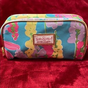 Lilly Pulitzer for Estée Lauder Makup/cosmetic bag